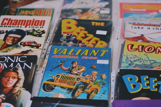 Tweedehands stripboeken